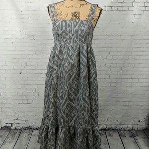 Calvin Klein Jeans Grey Cotton Dress